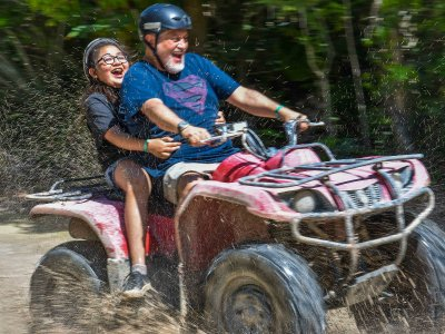 ATV tour to cenote in Riviera Maya 1 day
