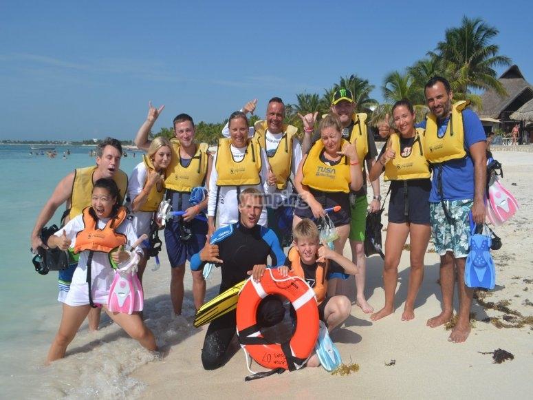 Grupo de Snorkeling