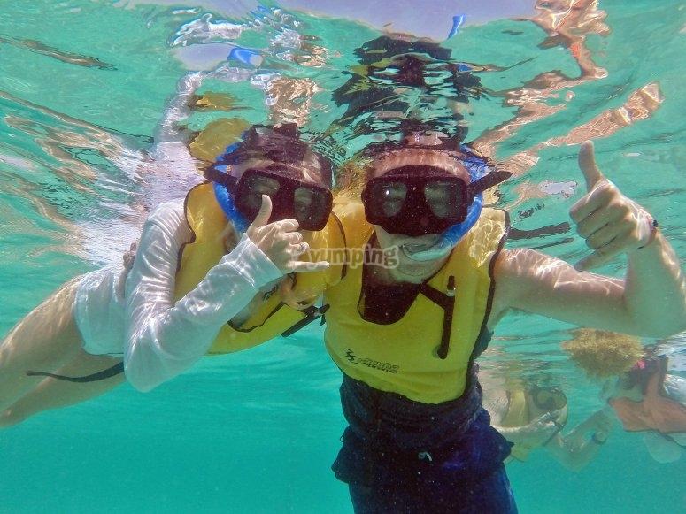 Experiencia bajo el mar