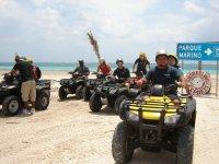 ATV in the beach