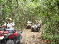 Rides in ATV