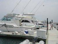 Fishing yachts