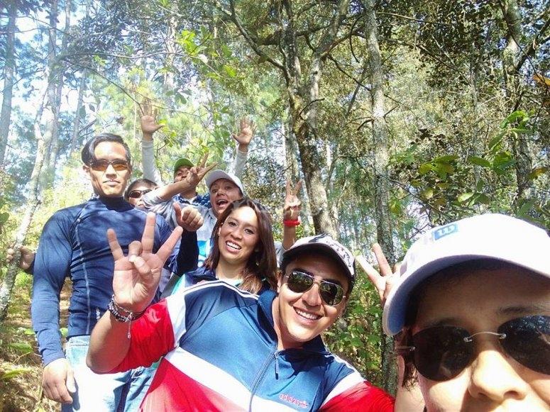 Happy with the trek