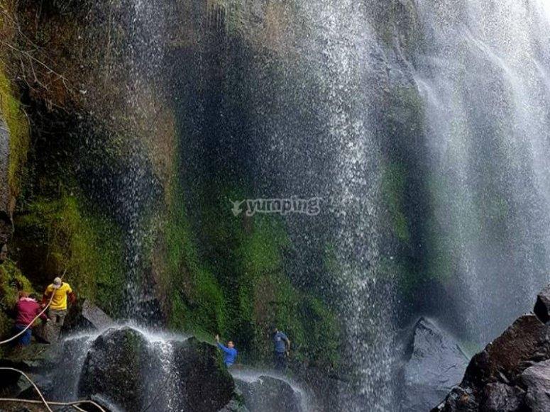 Beautiful and great waterfall