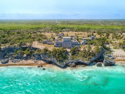 Tulum, Coba and Playa del Carmen tour with buffet