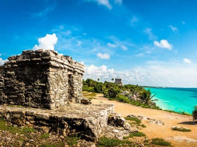 Express visit to Tulum with transportation 6 hours