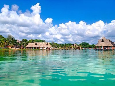 Tour to Bacalar with food and transportation 8 hours