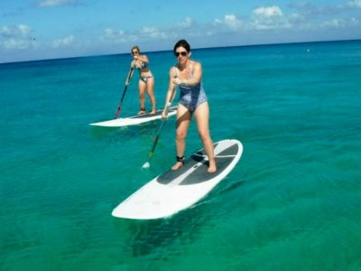 Stand up paddle equipment rental in Cozumel 1 hour