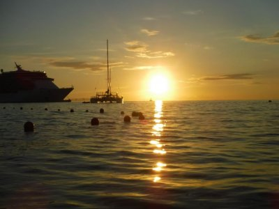 Stand Up Paddle at sunset in Cozumel 1.5 hours