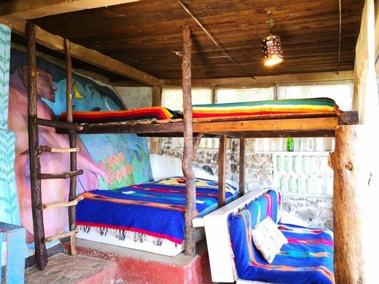 Habitaciones en cabaña