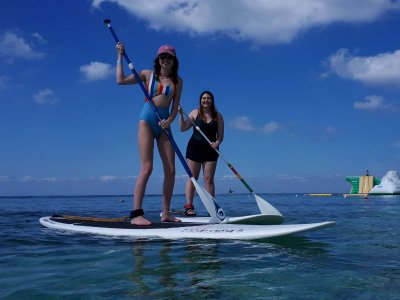 Stand Up Paddle at Mr. Sanchos Cozumel beach 1.5 h