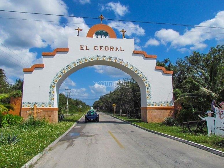 Arriving at El Cedral