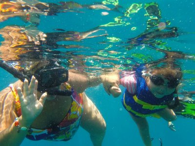 Snorkel with lunch for children in Los Cabos