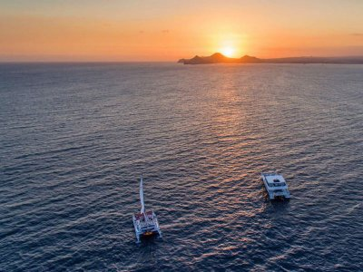 Sunset Snorkel with Dinner in Los Cabos 3.5 h