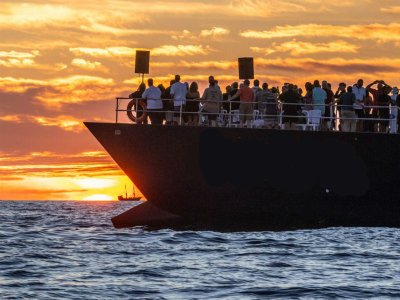 Sunset cruise with dinner in Los Cabos 2.5 h