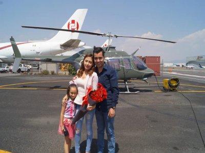 Romantic flight over volcanoes from Atizapán 1h