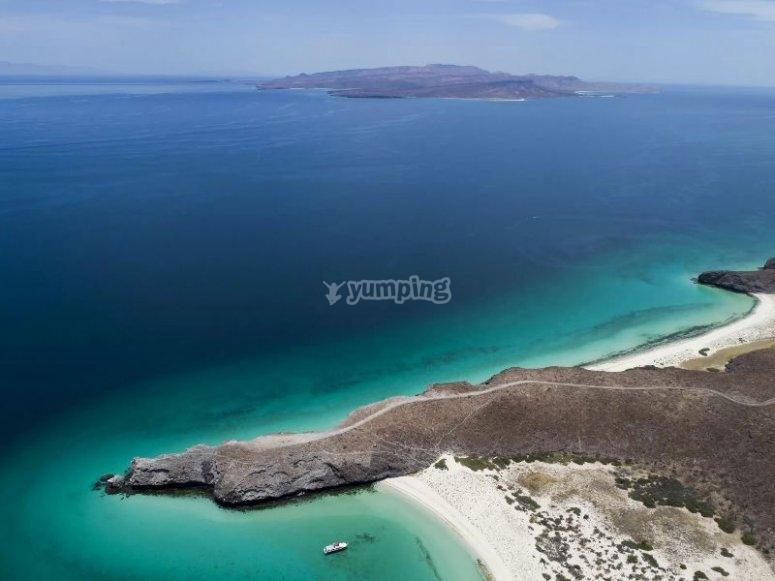 Belleza incomparable de la playa de Balandra