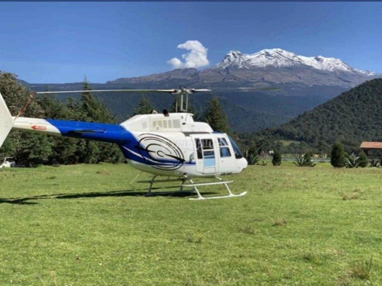 Volcano flight