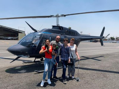 CDMX helicopter tour from Atizapán 30 min