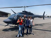 Family by helicopter