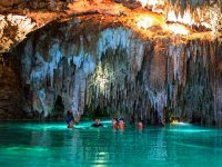 Snorkel in cenotes and lagoon in Cancun 3.5 h