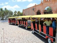 Panoramic train Zacatecas