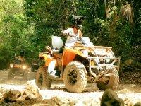 Total adventure in ATVs