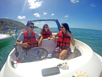 Boat ride and swim in Xpicob 3.5 hours