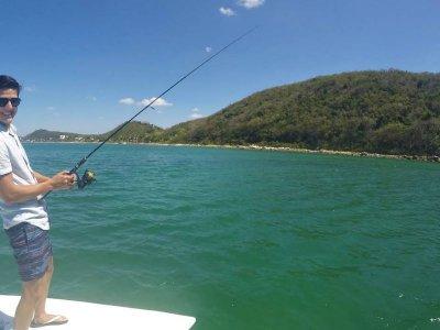 Artisanal fishing along the Campeche coast 6 hours