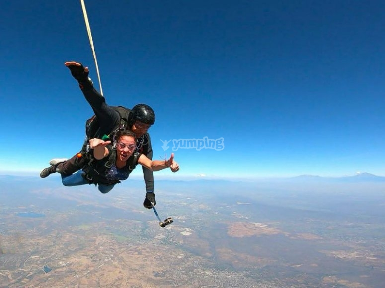 Exciting free fall