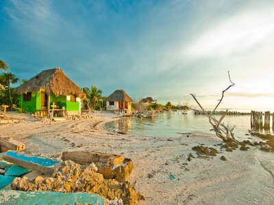 Guided tour of islands and Holbox with buffet 7 hrs