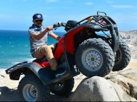 Cuatrimoto por desierto y playa en Los Cabos 2 h