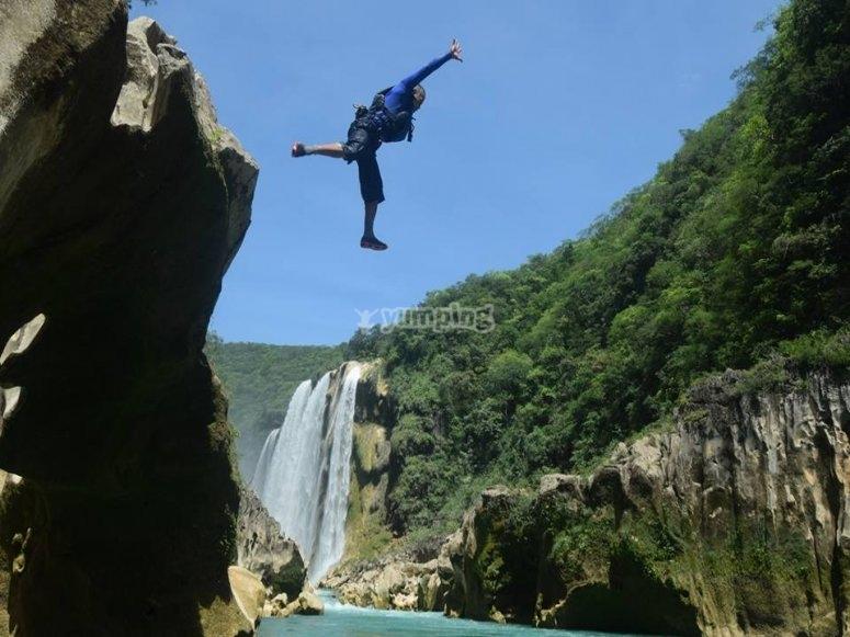 Cascade jump