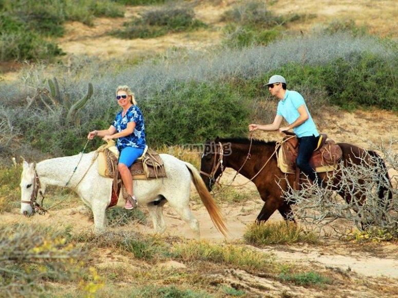 Cabalgata por el desierto