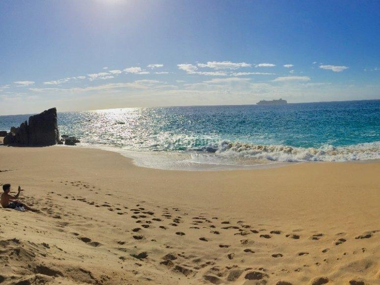 Playa Migriño y sus dunas
