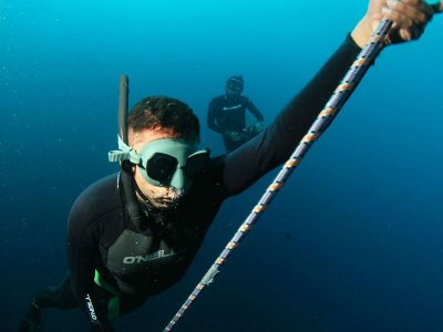 Diving with Hooka in Acapulco Bay 2 hours