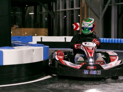 Go Kart race at Plaza Carso 30 minutes