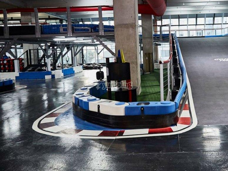 Indoor race track
