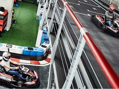 Go Kart race in Tlalnepantla 15 laps