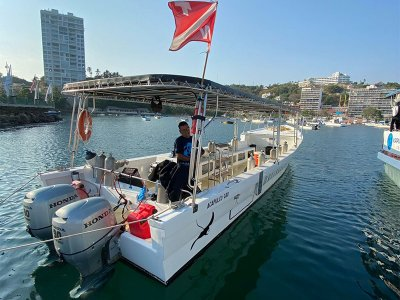 Private boat rental for 12 pax in Acapulco 4h
