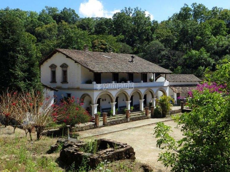One of the haciendas from San Sebastián