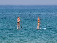 Learn to paddle surf