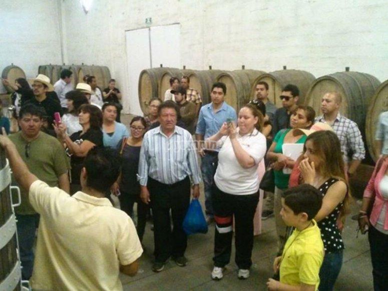 Explanation of winemaking