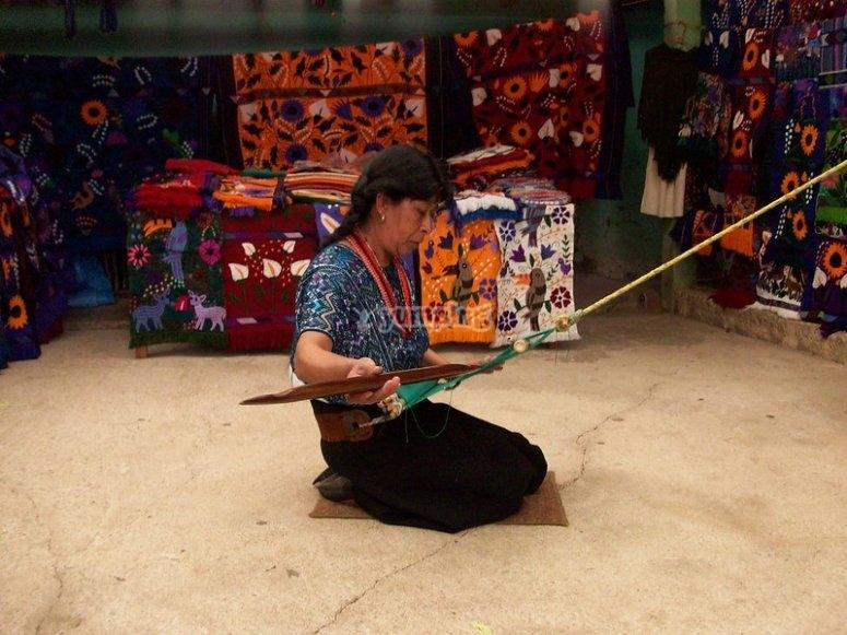 Mayan handicrafts