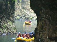 Adventure in rafts