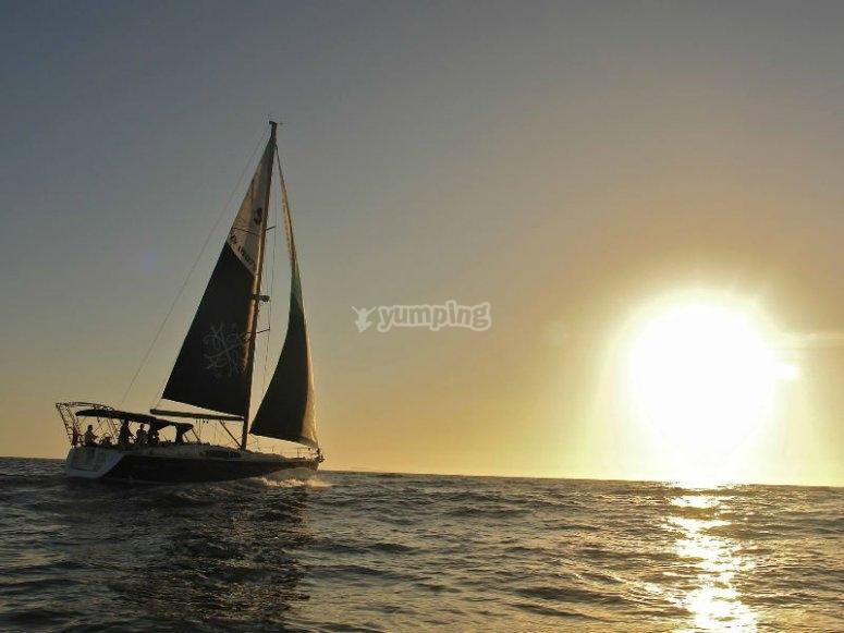 Puesta de sol en Ensenada