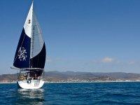 Luxury sailboat rental 6 pax Ensenada Bay 3 hr
