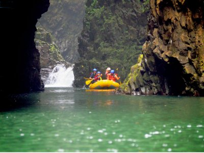 Rafting in Tlapacoyan with buffet and zip line 1 day