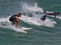 Group surf and board class in Ensenada 2 hours