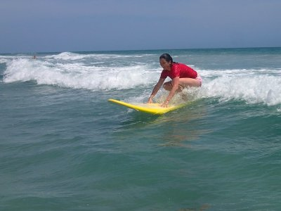 Clase privada de surf en playa de Ensenada 2 hrs